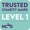 Trusted Charity Mark - Level 1 - CMYK